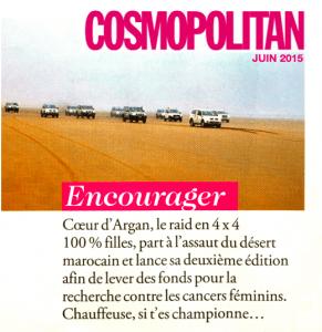 article cosmo mis en page